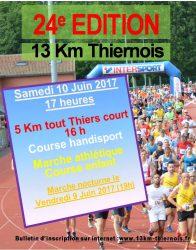 13 km thiernois